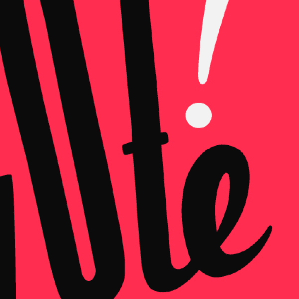 <strong>Typography Design</strong>. Freehand typography for the #Govote campaign via Tumblr.