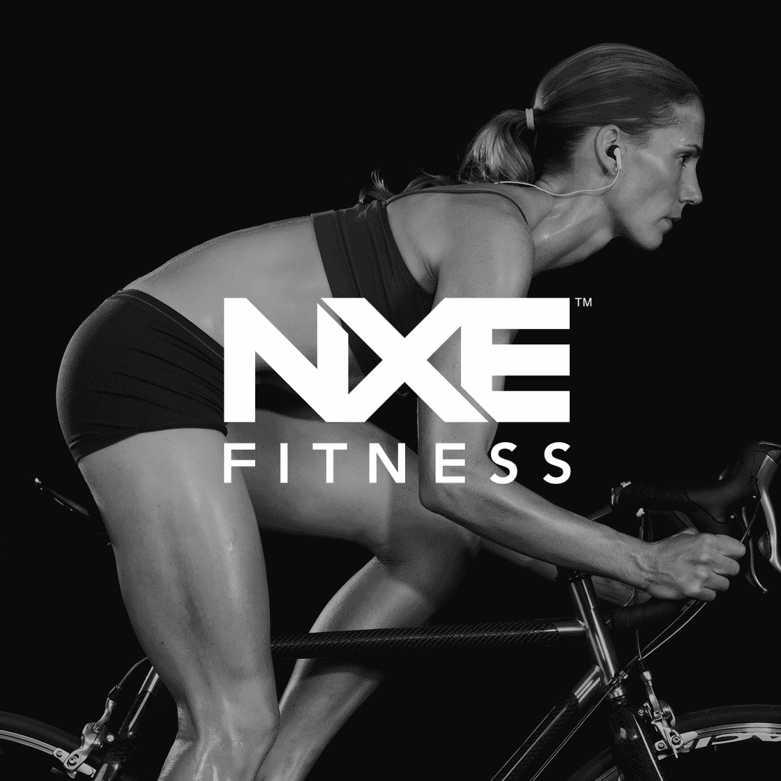 <strong>Web Design</strong>. Website and branding concept for fitness startup NXE.